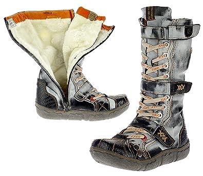 0ca1fd1eae8ec1 TMA Dvina Damen Stiefel Boots Winterstiefel Gefüttert Schuhe 7086 ...