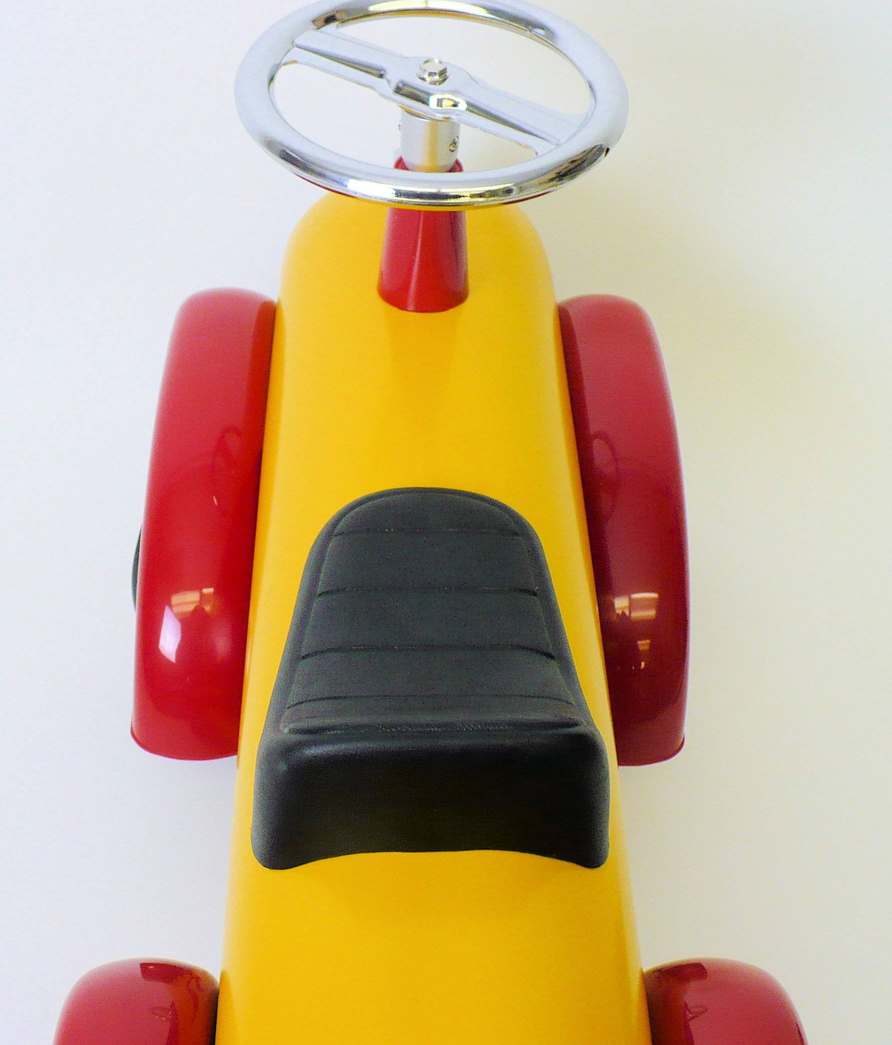 Toddler Hot Dog Speedster Yellow Red Flames 891Y by C.N.
