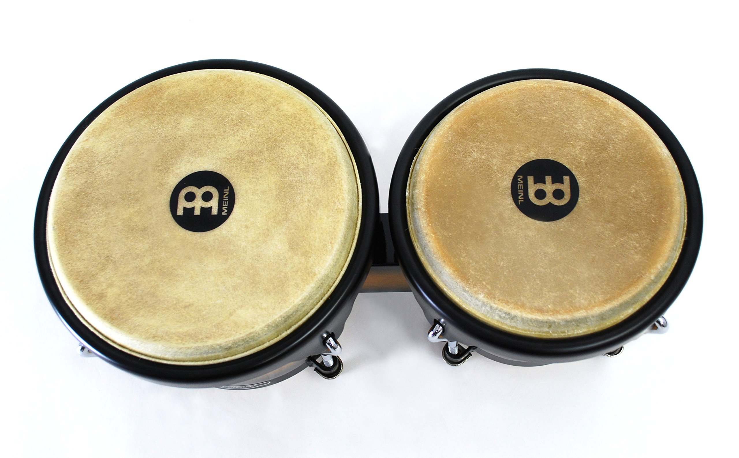 Meinl Percussion Bongos With Hardwood Shells - NOT MADE IN CHINA - Vintage Sun burst Finish, Buffalo Skin Heads, 2-YEAR WARRANTY HB100VSB by Meinl Percussion (Image #4)