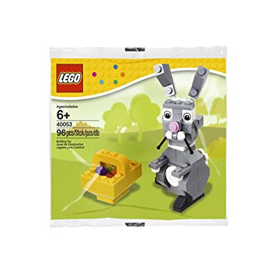 LEGO Seasonal 40053: Easter Bunny with Basket set (Bagged): Toys & Games