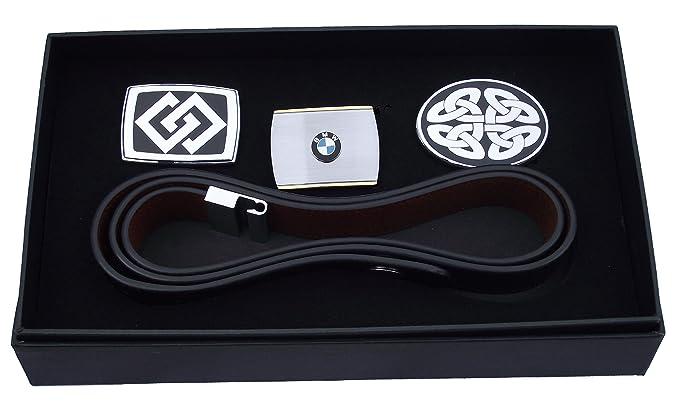 BMW - Ceinture réversible en cuir 6 en 1 dans un coffret cadeau ... a450e2a58d9
