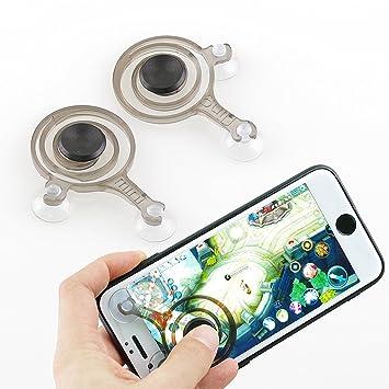 2PCS Mobile Phone Game Joystick Game Rocker Touch: Amazon co