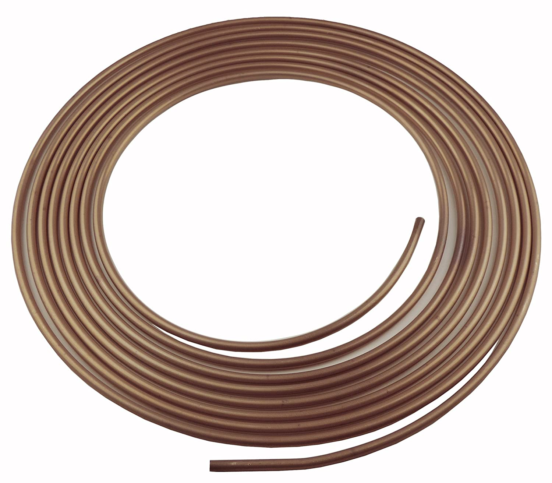 L-5-5 Inline Tube 1//4 Cupronickel//Copper Nickel Brake Line Tubing Coil 25