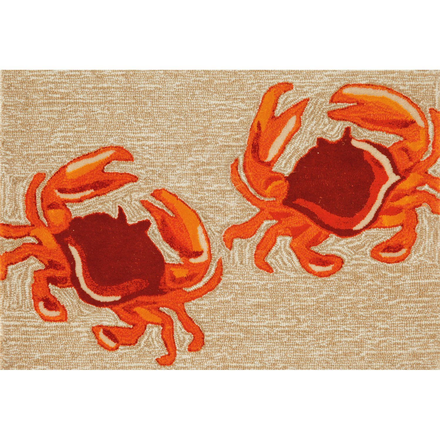Liora Manne FT112A50012 Whimsy Claws Rug, 20x 30, Natural 20x 30 The Trans Ocean Group
