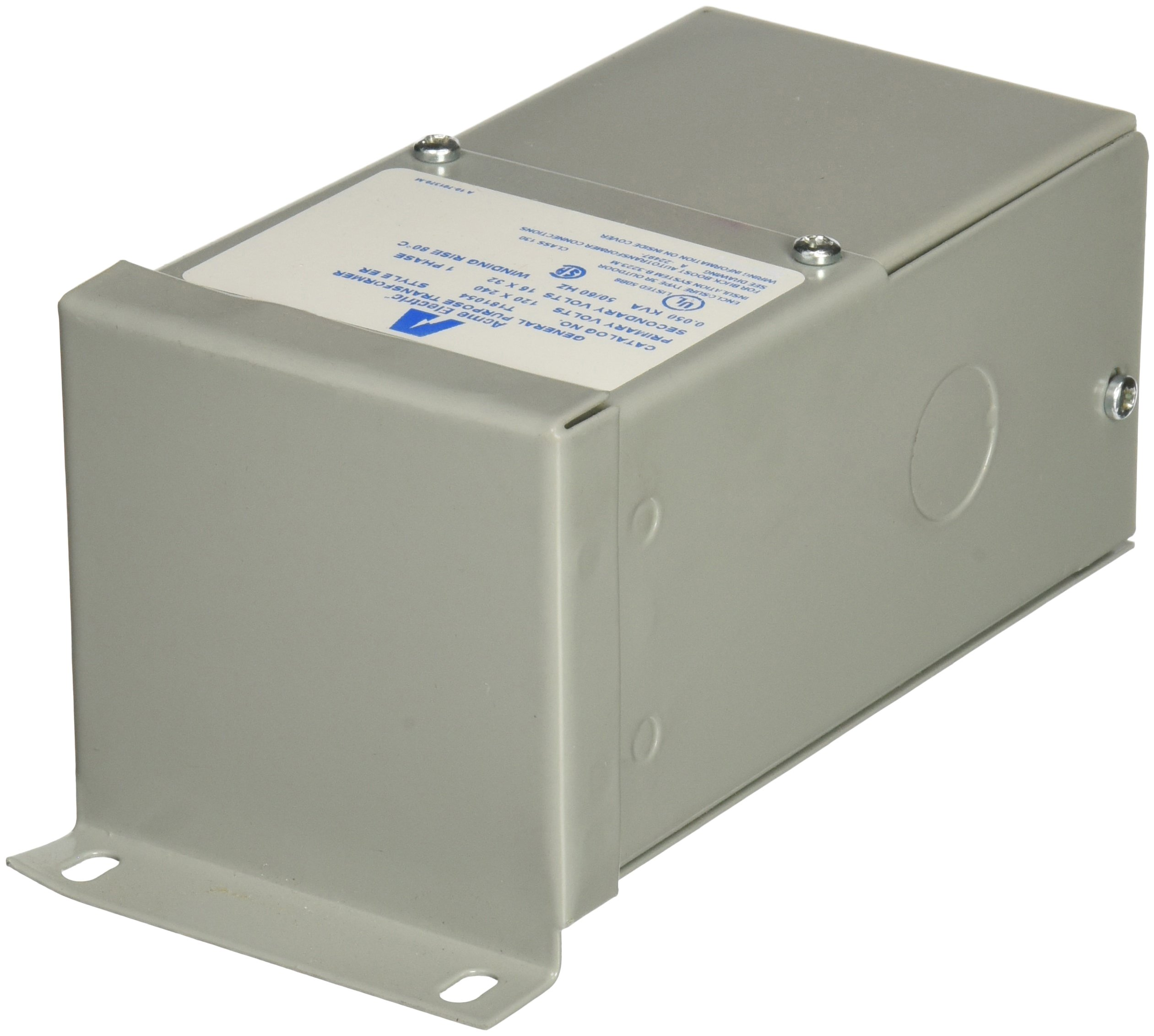 Acme Electric T181054 Open Core and Coil Industrial Control Transformer, 240V x 480V, 230V x 460V, 220V x 440V Primary Volts, 120V/115V/110V Secondary Volts, 0.5 kVA