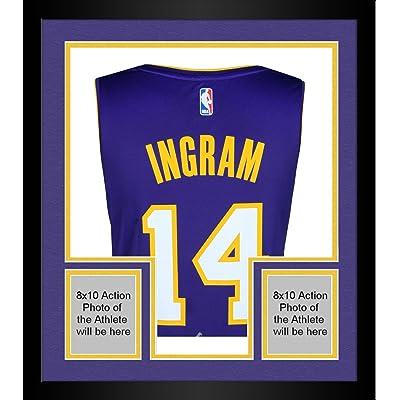 first rate b3b66 af6eb Framed Brandon Ingram Los Angeles Lakers Autographed Purple ...