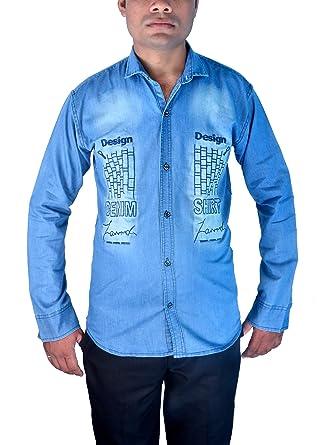 0874d2abf Sunshiny Mens Denim Shirts