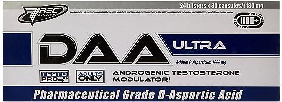 Trec nutrition that D-aspartic acid testosterone booster GH Ultra 30 caps