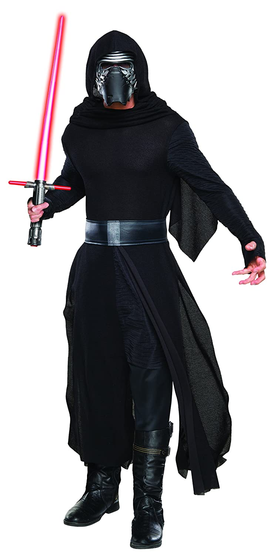 Black XL Star Wars The Force Awakens Adult Kylo Ren Costume Mens Standard  Chest 3840