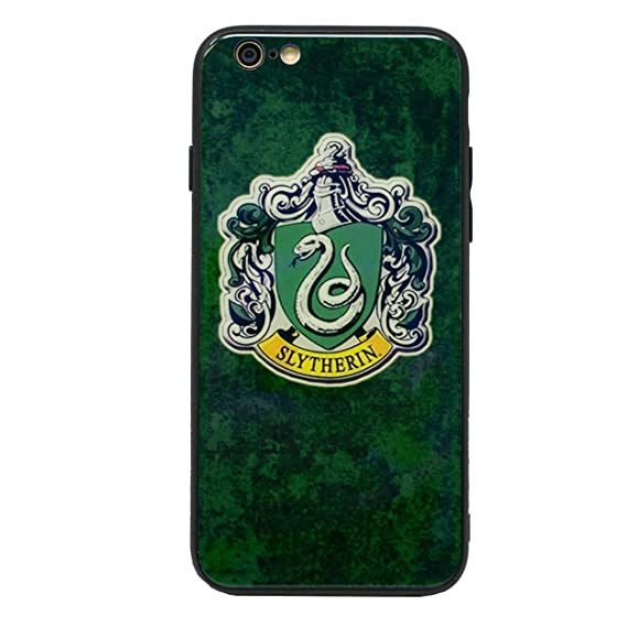timeless design 11b63 3a35b Amazon.com: Harry Potter Houses Glass Case Extra Strong Hard ...