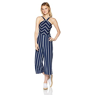 A. Byer Women's Young Woman's Teen Full-Length Jumpsuit Romper: Clothing