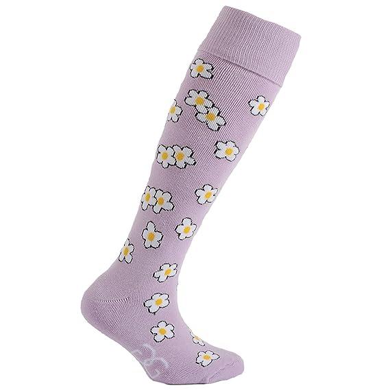 Horizon - Calcetines para botas de agua con estampado floral para niños (31-35