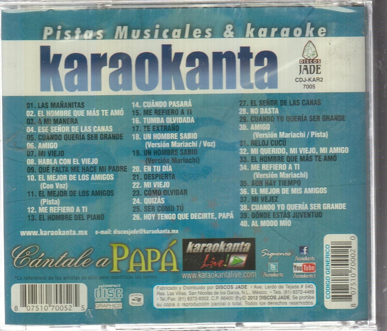 - CANTALE A PAPA VOL.5 KAR 7005 KARAOKANTA - Amazon.com Music