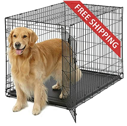Amazoncom Rv Dog Crate 42l X 28w X 30h Inches Metal Folding For