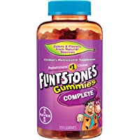 Flintstones 180 Count Children's Complete Multivitamin Gummies