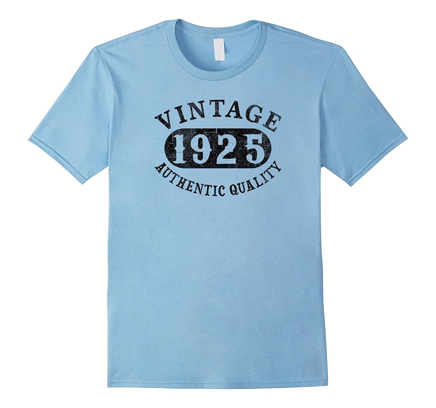 1925 Vintage 92 years old 92nd B-day Birthday Gift T-Shirt-PL
