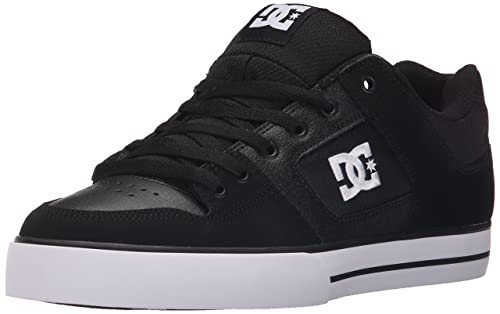 new arrival fb9d0 37174 DC Shoes Men's Pure Low Top Shoes Black -17: Amazon.it ...
