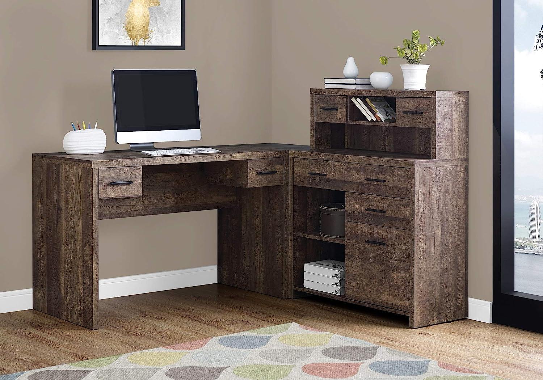 - Amazon.com: Monarch Specialties Computer Desk L-Shaped - Left Or