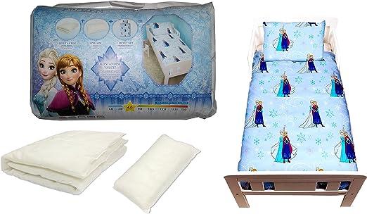 Kids Duvet Cover /& Pillow Case Bed Set Disney Character Junior Toddler Or Cot