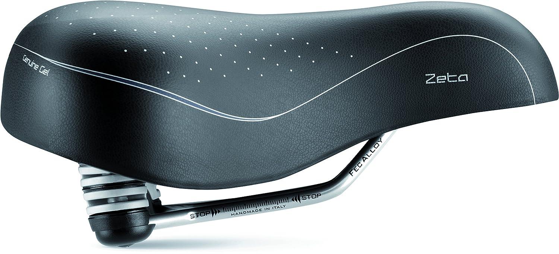 selle ITALIA Zeta Sport Tourer Collection Gel Saddle Vittoria Industries North America 20I156N401JEC002
