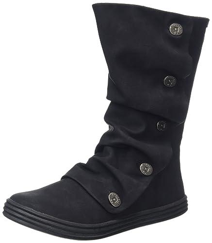 Rammish - Black (Man-Made) Womens Boots 8.5 US