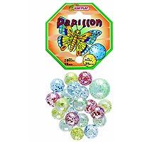 Kim'Play - 500810 - Jeu de Plein Air - 20 Billes  +  1 Calots -   Papillon