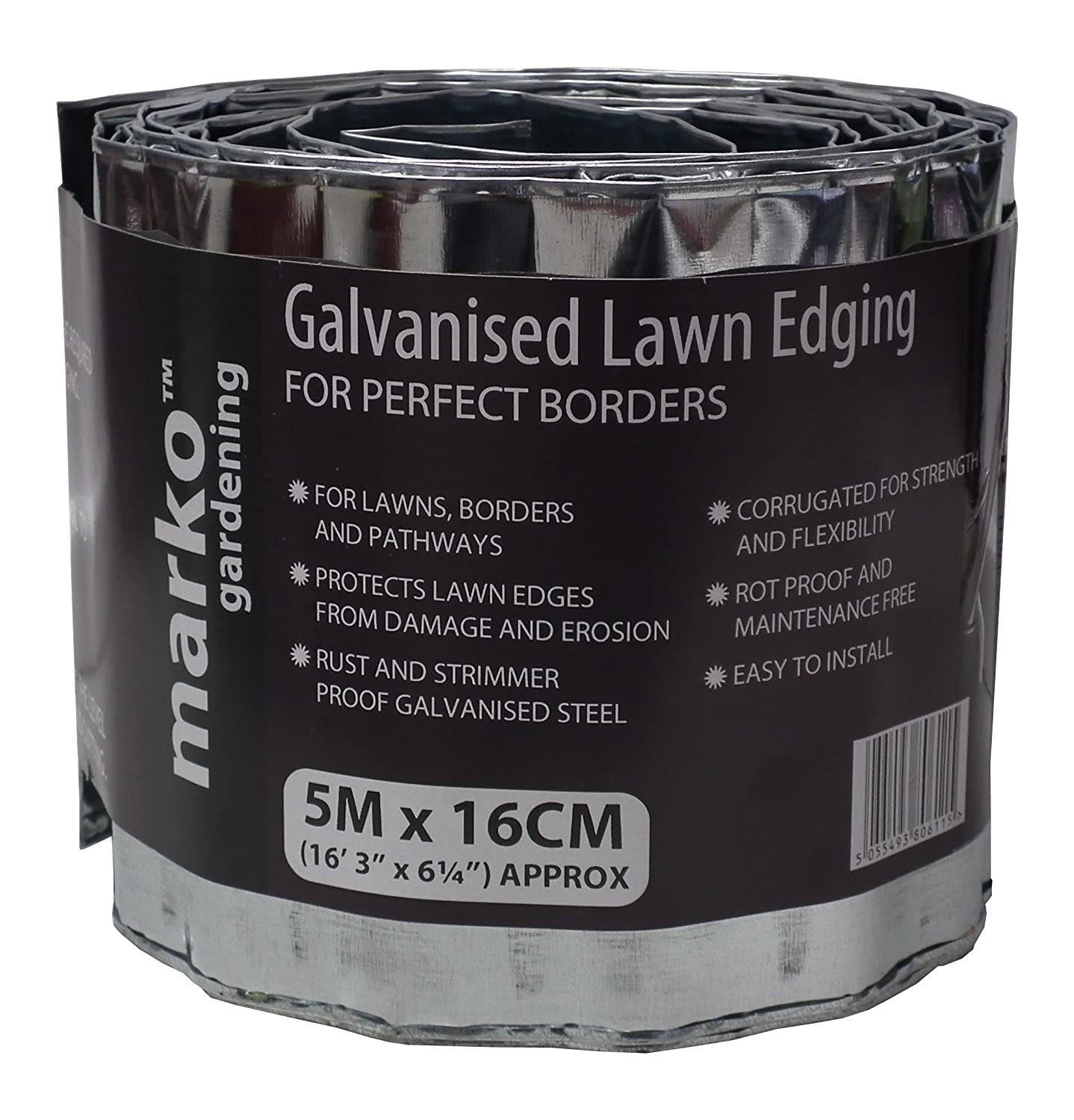 Lawn Edge Galvanized Amazoncouk Garden Outdoors