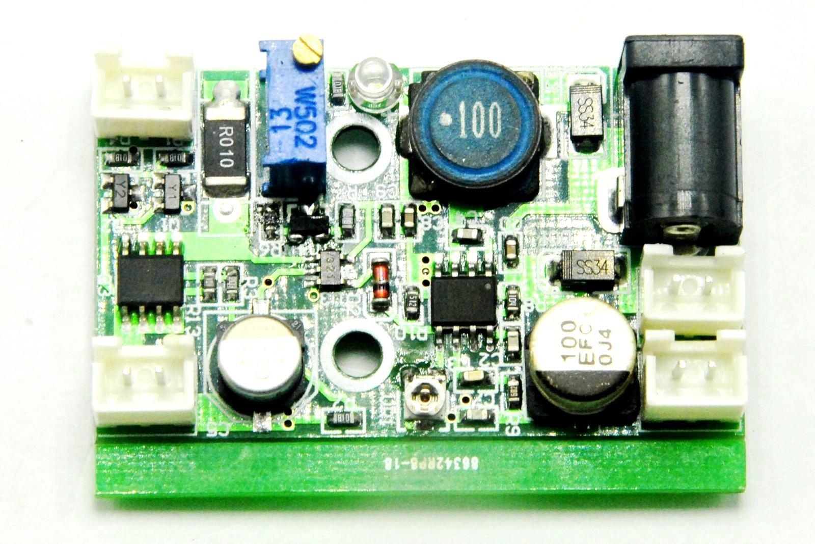 Diode Driver 12V TTL FOR 405nm 450nm 520nm 1w 1.6w 2w Blue Green Laser Module Laser by E-ShineJINGLUYAO