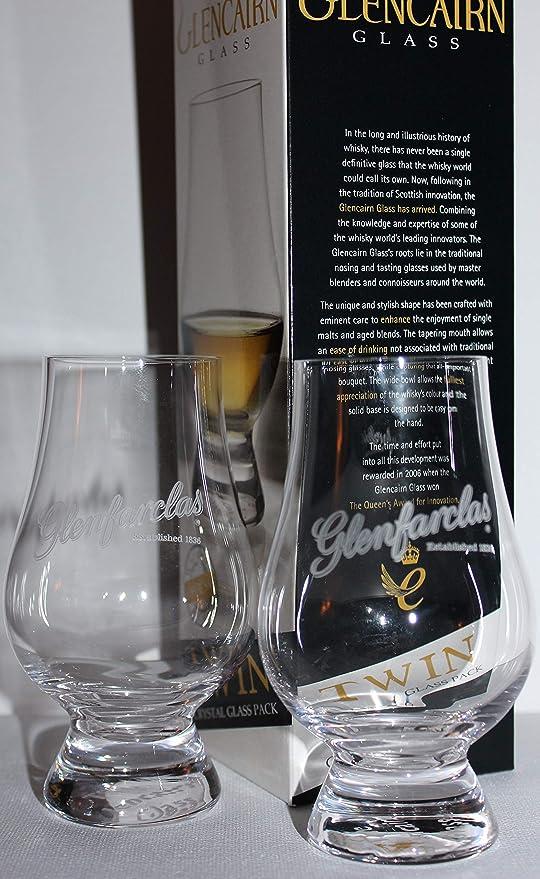 DALMORE TWIN PACK GLENCAIRN SCOTCH MALT WHISKY GLASSES
