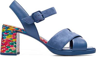 Camper Women's Kara Sandal - K200558 Medium Blue 35 ...