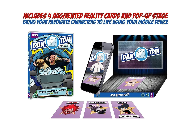 Dan TDM on Tour [Reino Unido] [DVD]: Amazon.es: DanTDM, Chris Howe, Ben Woolf, Jules Fuller, Daniel Middleton: Cine y Series TV