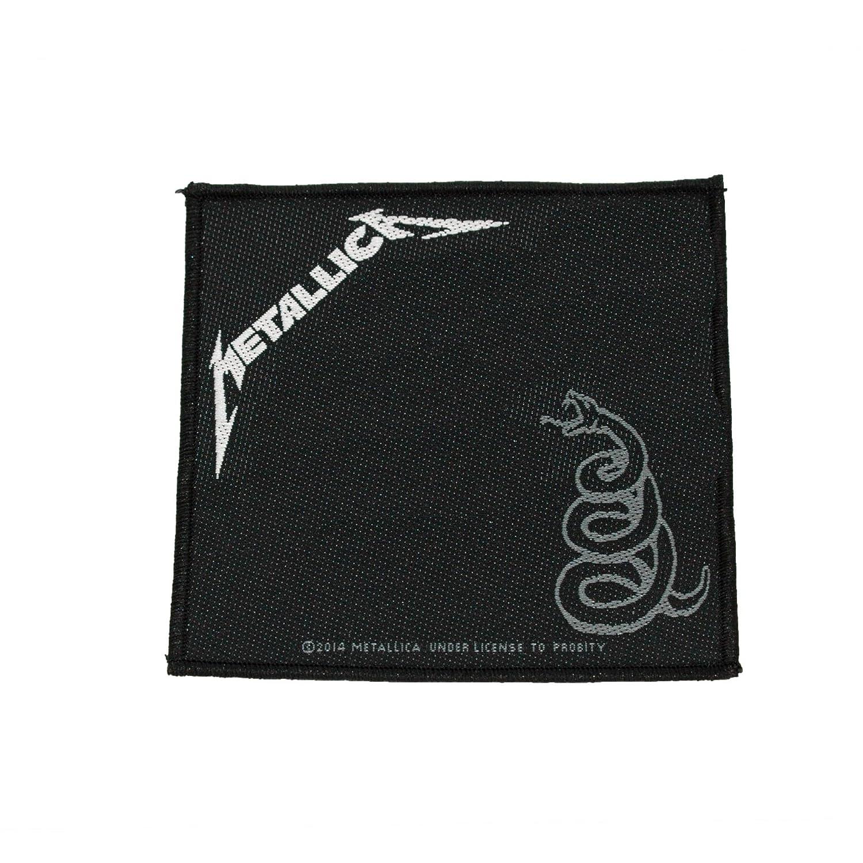 Metallica Black Album Patch 10cm x 10cm