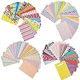 Mudder 80 Fogli Colorati Adesivi per Bordi Pellicola per FujiFilm Instax Mini 8 7s 25 50s 90