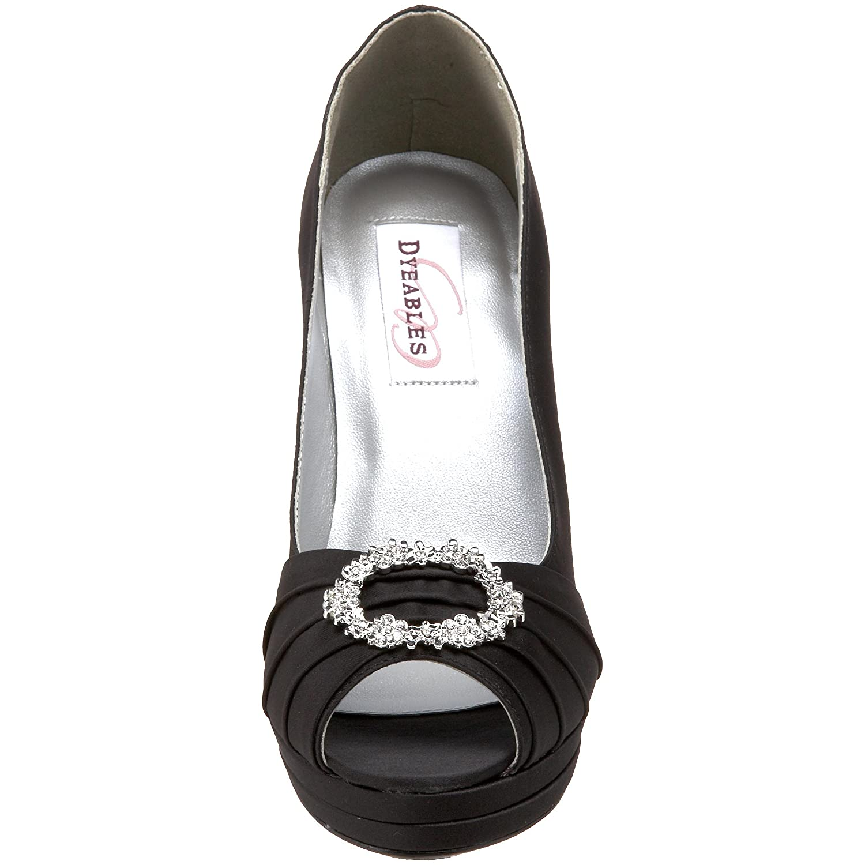 Dyeables Women's Gianna Platform B(M) Pump B003O29AR0 11 B(M) Platform US|Black 45856c