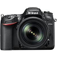 Nikon D7200 Digital SLR Camera (24.2 MP, 18-105 mm VR Lens, Wi-Fi, NFC) 3.2-Inch LCD Screen DSLR Kamera