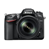 Nikon D7200 Digital SLR Camera (24.2 MP, 18-105 mm VR Lens, Wi-Fi, NFC) 3.2-Inch LCD Screen
