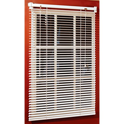 how to hang mini blinds levolor magne 40inch vinyl mini blind with 1inch slats and 25inch door window covering amazoncom