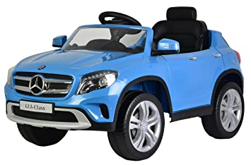 mercedes gla 12v kids ride on battery powered wheels car rc remote working ac