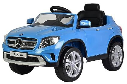 Amazon.com: Mercedes GLA 12 V Kids Ride On batería Powered ...