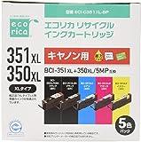 ecorica 墨盒 Canon ( 佳能 ) + 350xl / MP 5色套装