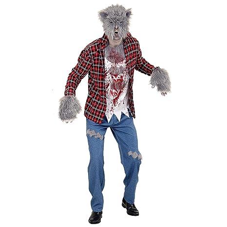 WIDMANN Disfraz Adulto Hombre lobo: Amazon.es: Juguetes y juegos
