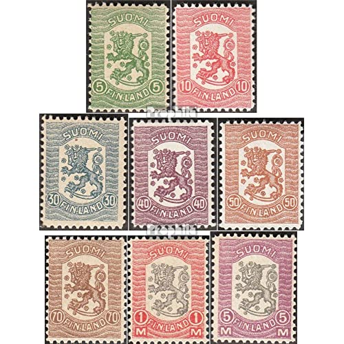 Finlande 95-102 (complète.Edition.) 1918 timbres Waasa (Timbres pour les collectionneurs)
