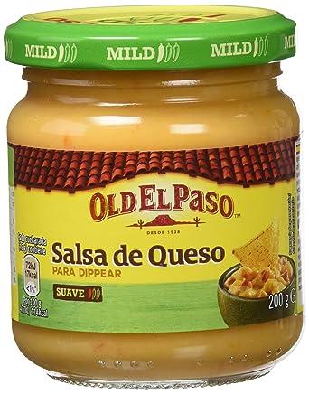 Old el paso frasco salsa de queso 200g - [Pack de 2]