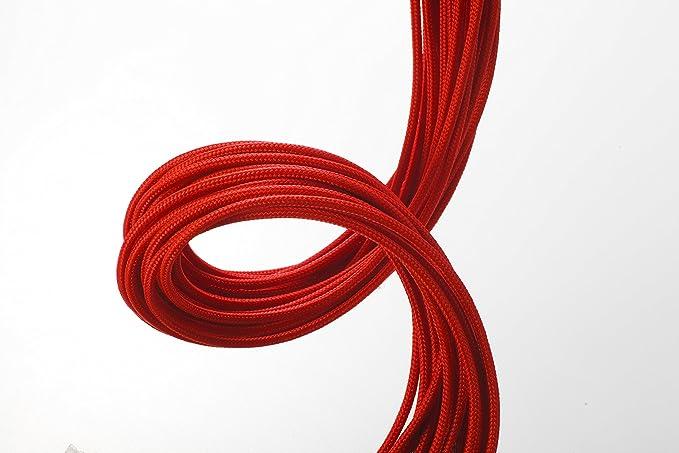 Phanteks PH-CB-CMBO_RD Cable de alimentación Interna - Cables de alimentación Interna (Negro, Rojo): Amazon.es: Informática