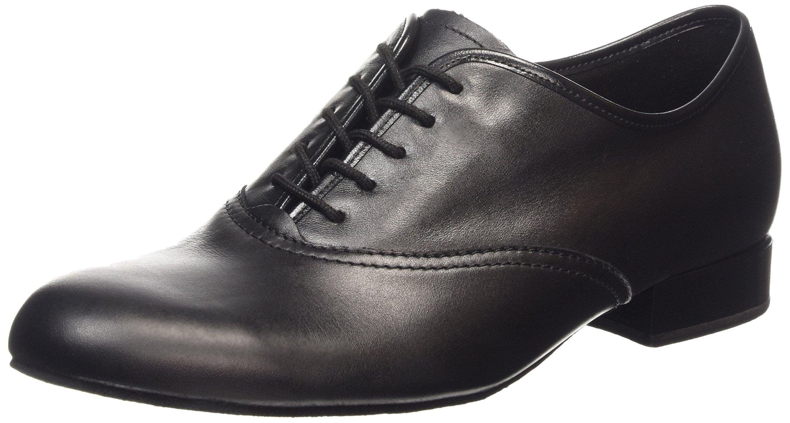 Diamant Men's Model 078 - 3/4'' (2 cm) Standard Shoe for Tango/Salsa (Wide - H Width), 10 W US (9.5 UK)