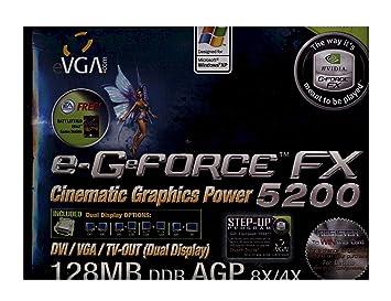 Amazon.com: evga. com E-G (R) Force FX 5200 tarjeta gráfica ...