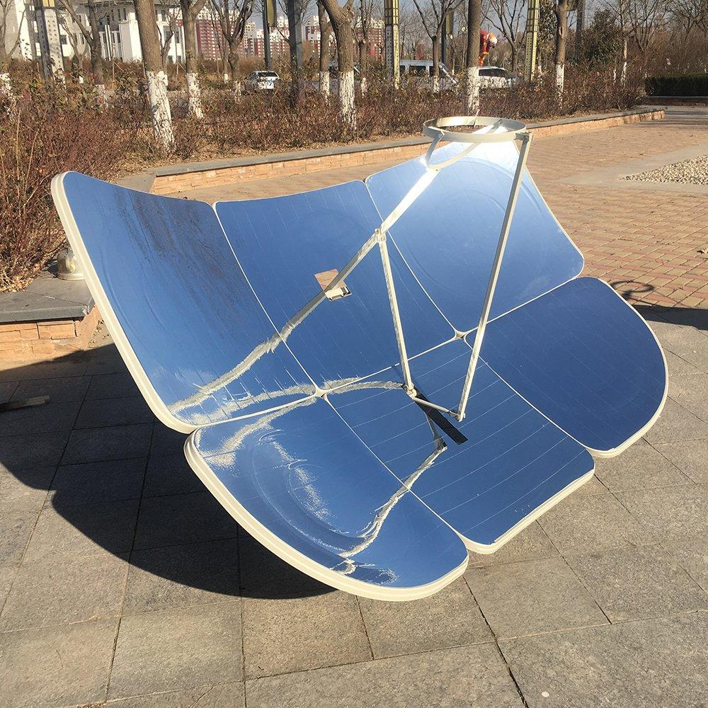 HUKOER 6Pcs Nueva Cocina Solar Rectangular de130X190 cm Parcial Enfoque con Mayor eficacia 2300W: Amazon.es: Jardín