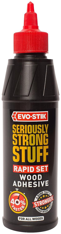Evo-Stik 30608989 Seriously Strong Stuff Rapid Set Wood Adhesive 250ml, White Bostik Limited