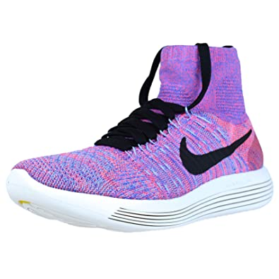 c5a056c5e36a Women s Nike Lunarepic Flyknit Running Shoes Hot Punch 818677-604 (8 ...