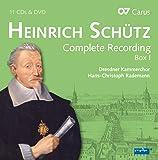 Heinrich Schütz : Intégrale de l'uvre, vol. 1. Rademann.